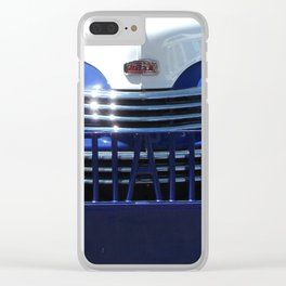Nash, Grill, Truck, Old Nash Truck, Vintage Clear iPhone Case