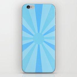 blue sunshine iPhone Skin