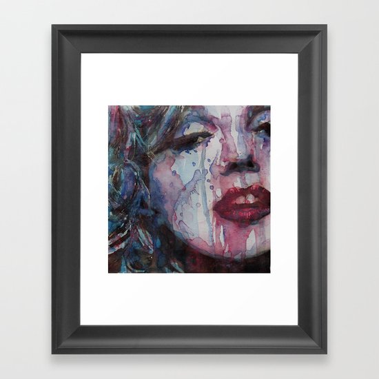 Beneath You Beautiful Framed Art Print