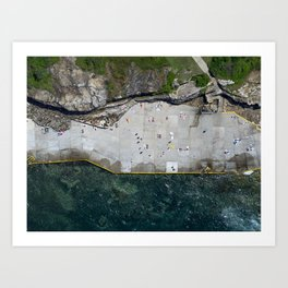 Clovelly Beach, Sydney Art Print