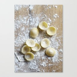 Pasta Makes the World go Round Canvas Print