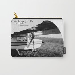 Adventure is Worthwhile in Itself Carry-All Pouch