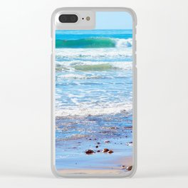 Layered Surf Clear iPhone Case
