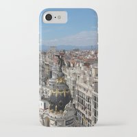 madrid iPhone & iPod Cases featuring Madrid Espana by Eduardo Doreni