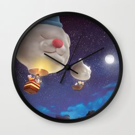 SmileDog Balloon Wall Clock