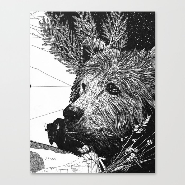 Epic 03 Canvas Print