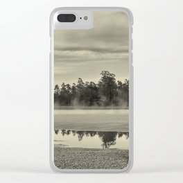The river and the trees Clear iPhone Case