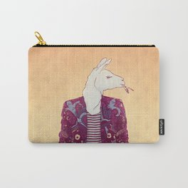 Eddy the Llama Carry-All Pouch