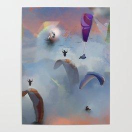 Dream Gliding Flash Poster