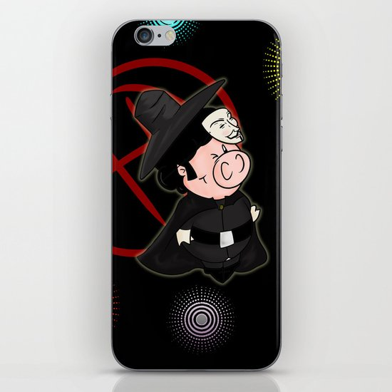 Guy Fawkes iPhone & iPod Skin