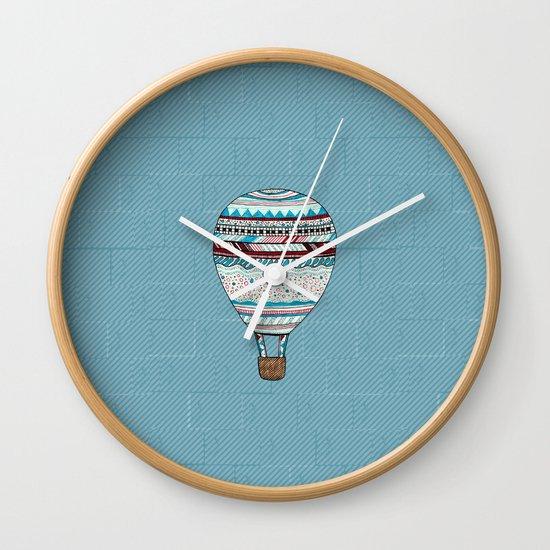 Candy Balloon Wall Clock