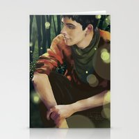 merlin Stationery Cards featuring Merlin by PrintsofErebor