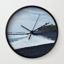 Black Sand Wall Clock