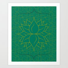 Infinite Hour Glass Art Print