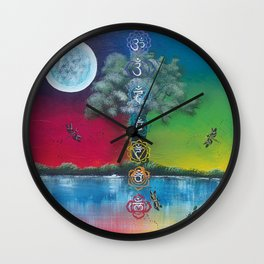 Refelctions Wall Clock