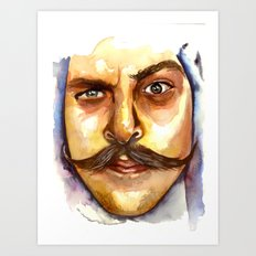 MOLESTASH! Art Print
