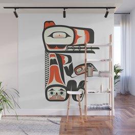 Sitting Dog Wall Mural