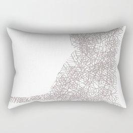 Murr the Kitty Rectangular Pillow