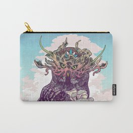 Journeying Spirit (Owl) Carry-All Pouch
