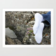 Irish Socks Art Print