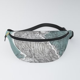 Blue Cockatoo Fanny Pack