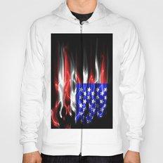 American flames Hoody