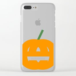 PumpkinEy Clear iPhone Case