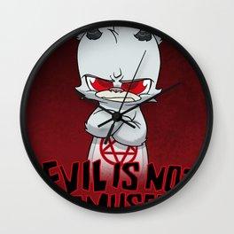 Cranky Evil Wall Clock