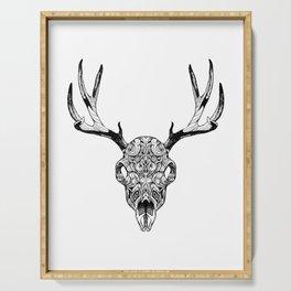 Deer Skull Serving Tray