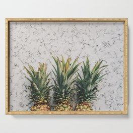 Pineapple marble Serving Tray