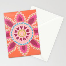 Suzani inspired floral 1 Stationery Cards
