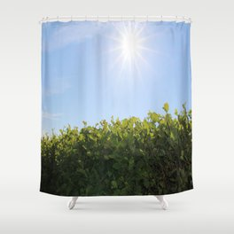 Summer Photos, Nature Photography, fine art gifts, Landscape Photo, sunshine photo Shower Curtain