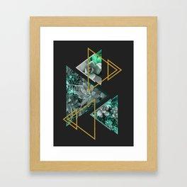 Gloomy Succulents #society6 #decor #buyart Framed Art Print
