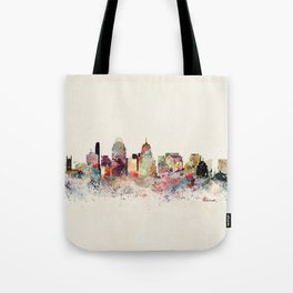 cincinnati skyline Tote Bag