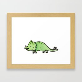 It's Dino Time Framed Art Print