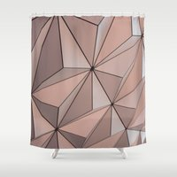 globe Shower Curtains featuring Globe by Alexis Bishop