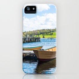 Lunenburg Harbor iPhone Case