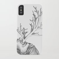 fawn iPhone & iPod Cases featuring Fawn by Tooth & Arrow Co
