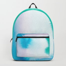 180815 Watercolor Rothko Inspired 6| Colorful Abstract | Modern Watercolor Art Backpack