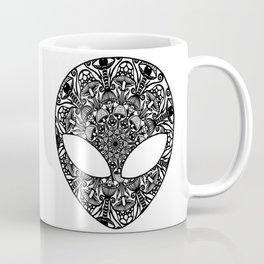 Alien Mushroom Mandala Coffee Mug