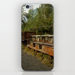 Coal Train iPhone Skin