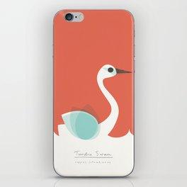 Tundra Swan iPhone Skin