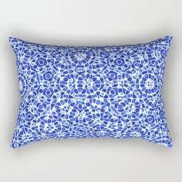 Watercolor Mandala Rectangular Pillow