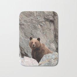 Amused bear Bath Mat