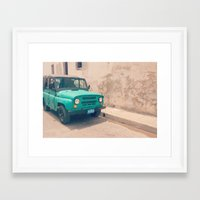 jeep Framed Art Prints featuring Jeep by Kristi Coles
