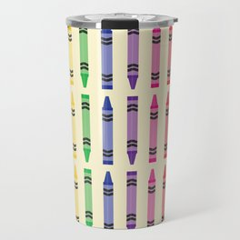 Well Color Me Crayons Travel Mug