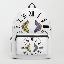 My Fluttery Clock 2 Backpack