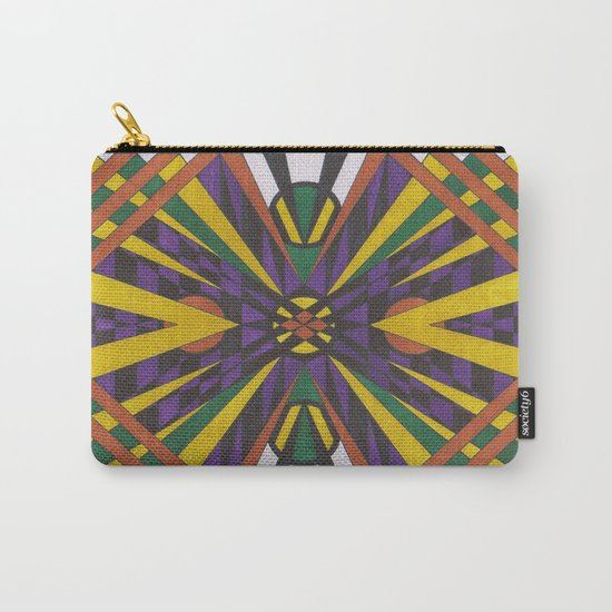 Purple Cross Carry-All Pouch