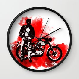 """""""The Dean of Hollywood"""" Wall Clock"""