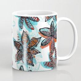 Tropica Floral Coffee Mug